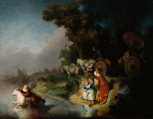 The Abduction of Europa by Rembrandt (1632)